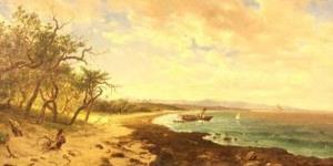 Esteban Chartrand, paisaje marítimo