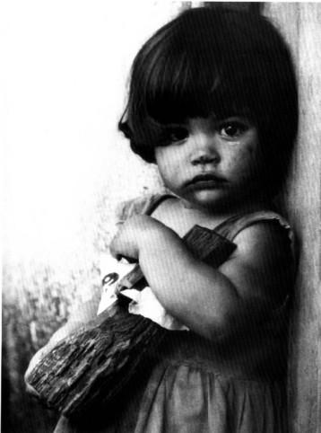 Niña campesina cubana antes del 59