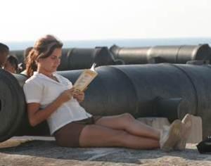 Esdudiante cubana en la Feria del Libro 2013