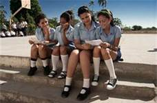 Estudiantes cubanas