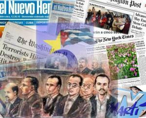Cinco manipulación prensa
