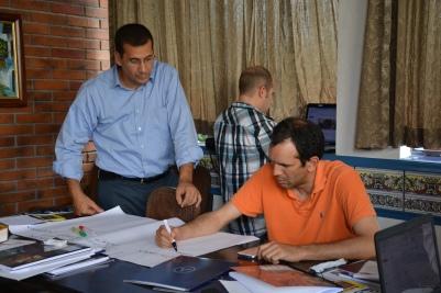 El taller en acción