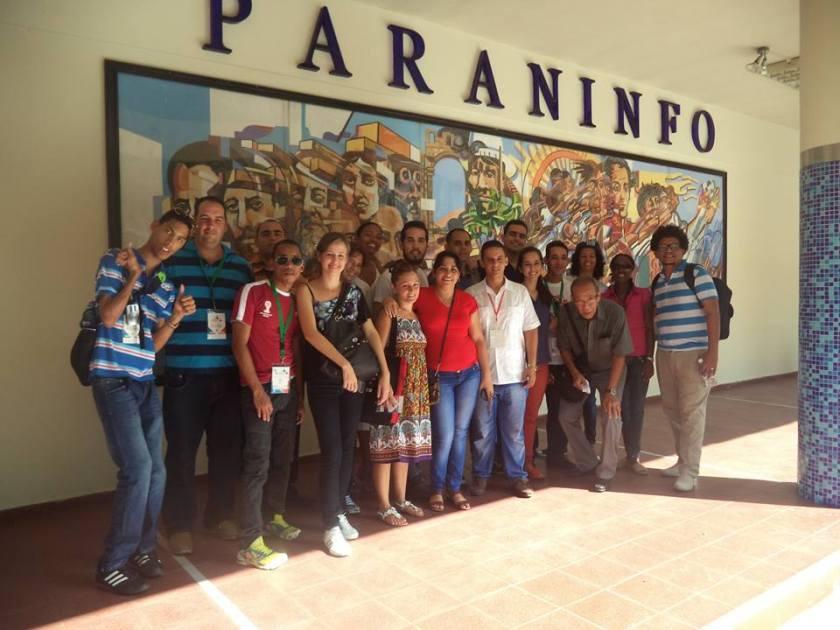 Jóvenes representantes de la Sociedad Civil cubana