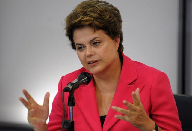 La presidenta de Brasil, Dilma Rousseff, rechaza la aplicación de la cláusula democrática del Mercosur contraVenezuela