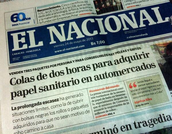 #Venezuela y #Chile, la historia serepite.