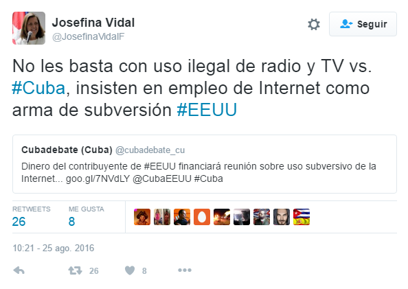 Cuba Internet Freedom: Nueva falacia enMiami.