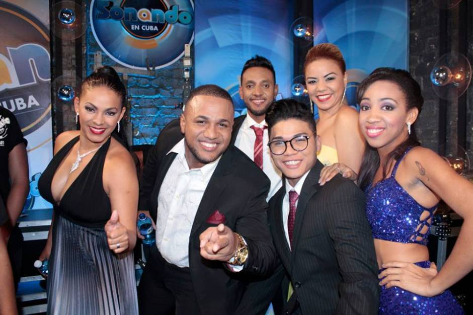 Competidores de Sonando en Cuba. Foto: Sonia Almaguer.