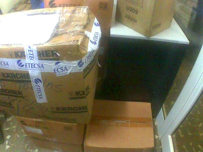 Donación de ETECSA para los afectados en Maisí